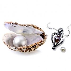Перла на късмета, оригинален подарък за жена, рожден ден, Свети Валентин, 8-ми Март